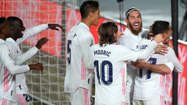 Real Madrid venció por 2-0 al Atlético por la fecha 13 de LaLiga