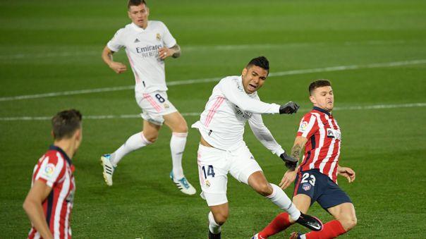Real Madrid enfrenta a Atlético de Madrid por la fecha 13 de LaLiga