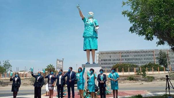 monumento a los enfermeros