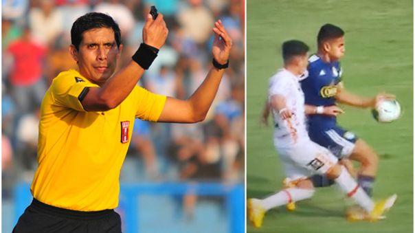 Luis Garay se refirió a la polémica jugada en el Cristal vs. Ayacucho