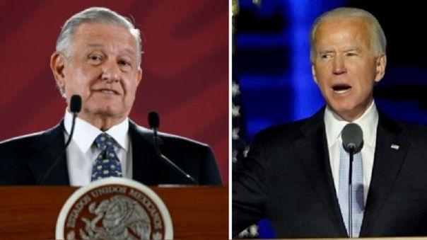 Andrés Manuel López Obrador se había negado a reconocer a Joe Biden como presidente electo de Estados Unidos.