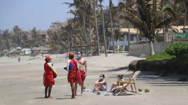 Máncora no estará habilitado para bañistas en estas fiestas de fin de año.