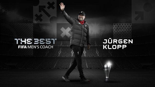 Jürgen Klopp se llevó el The Best 2020 como el 'Mejor Entrenador'