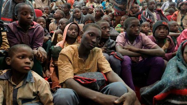 Los alumnos fueron raptados en Katsina, Nigeria