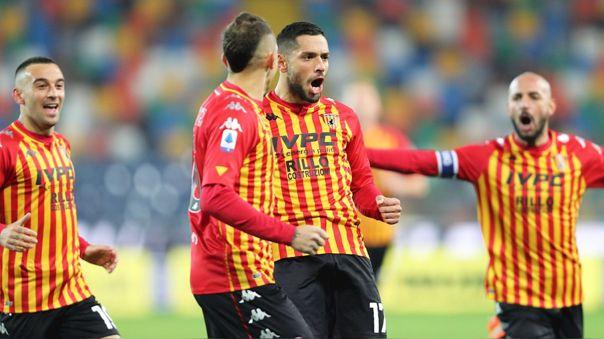 Benevento ganó a Udinese