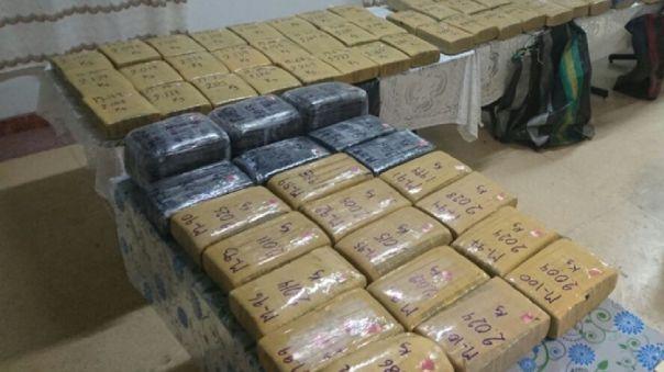 Las autoridades de Costa Rica informaron este martes el decomiso de 510 kilos de marihuan