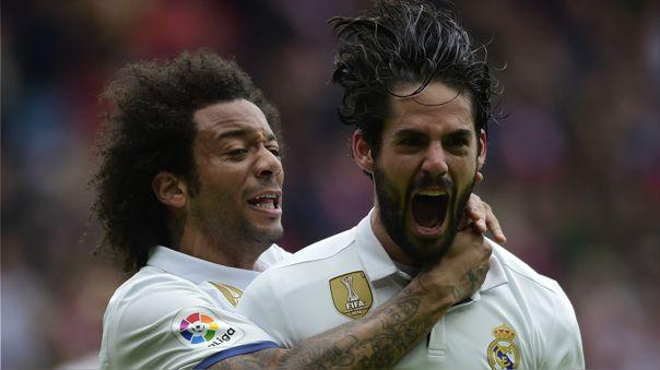 Marcelo e Isco no han tenido mucha continuidad en la temporada actual con Real Madrid