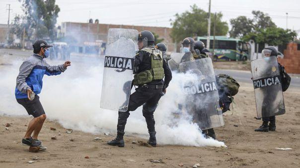 Protestas en La Libertad