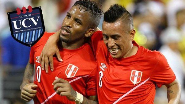 Jefferson Farfán y Christian Cueva son compañeros en la Selección Peruana