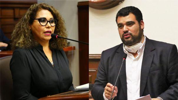 María Teresa Cabrera denunció el robo de su laptop de su despacho congresal.