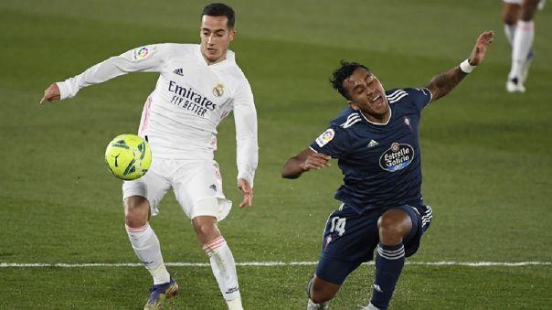 Real Madrid le ganó 2-0 a Celta de Vigo por la fecha 17 de LaLiga