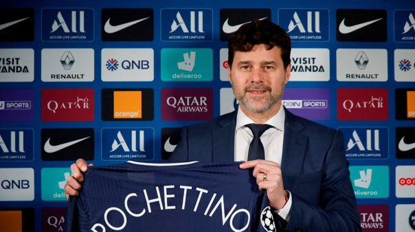 Mauricio Pochettino firmó contrato con PSG hasta junio del 2022