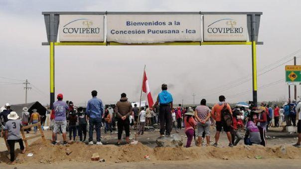 Trabajadores del agroindustrial Ica