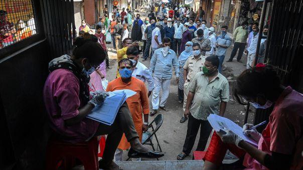 India, el segundo país con más infecciones del mundo por COVID-19
