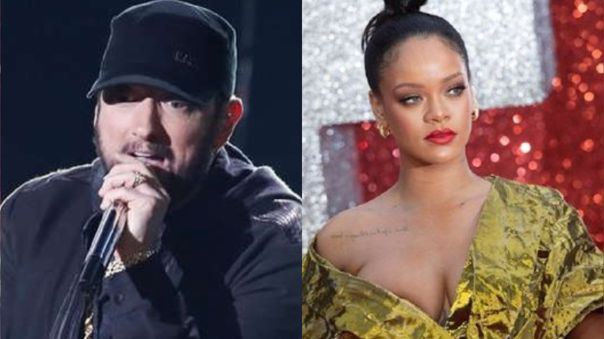 Eminem y Rihanna