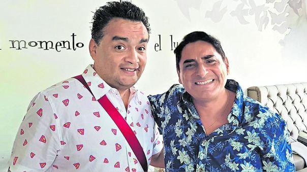 Jorge Benavides y Carlos Álvarez