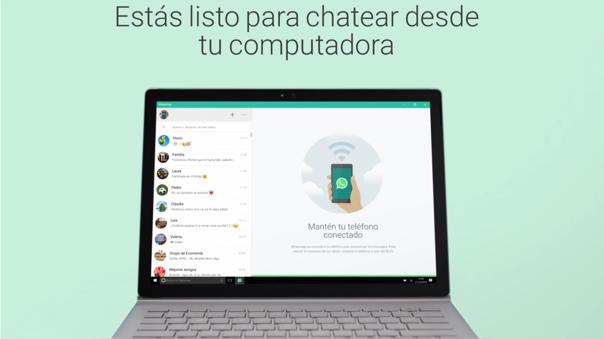 Con WhatsApp multidispositivo no será necesario que tengas tu celular conectado.