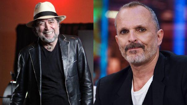 Joaquín Sabina y Miguel Bosé