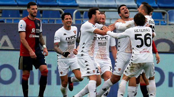 Benevento venció 1-2 a Cagliari por la fecha 16 de la Serie A 2020-21