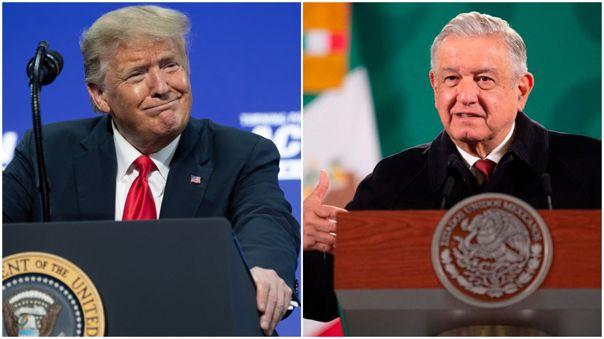 Donald Trump-Andrés Manuel López Obrador