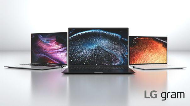 Este es el nuevo catálogo de LG Gram para 2021