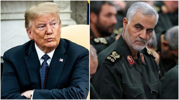 Donald Trump y Qasem Soleimaní