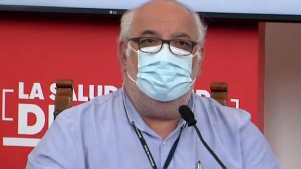 Viceministro de Salud, Luis Suárez