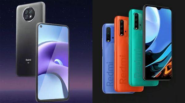 Xiaomi presentó al Redmi Note 9T y al Redmi 9T.
