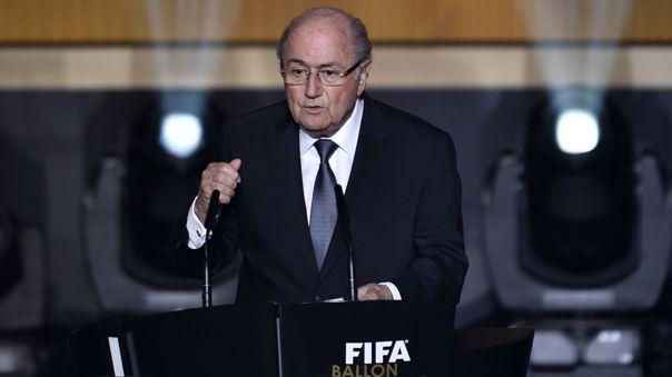 Joseph Blatter presidió la FIFA hasta el 2015