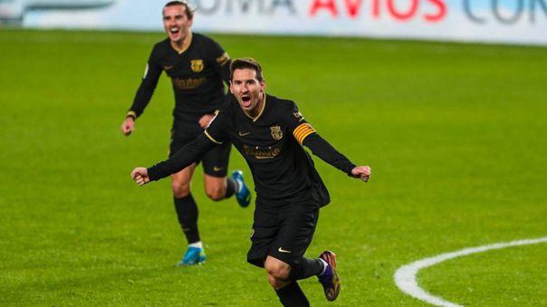Barcelona venció 4-0 a Granada por la fecha 18 de LaLiga