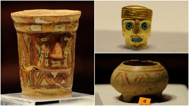 Piezas arqueológicas Tiahuanaco