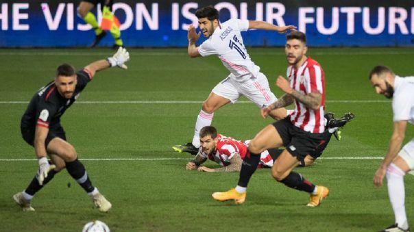 Real Madrid y Athletic Club chocan por la semifinal de Supercopa de España