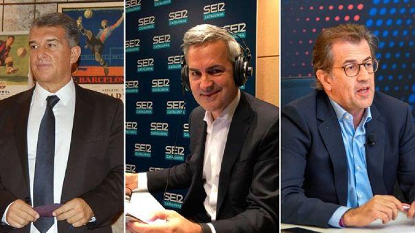 Laporta, Font y Freixa son los candidatos oficial a la presidencia de Barcelona
