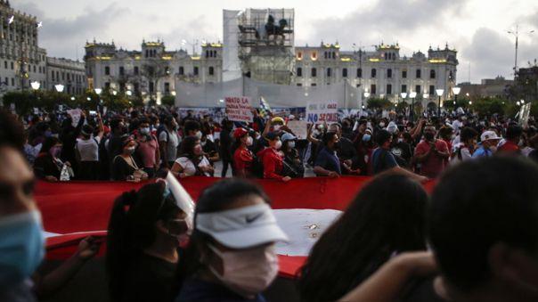 Inti Sotelo y Bryan Pintado murieron durante las protestas del pasado 14 de noviembre por la crisis política.
