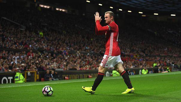 Wayne Rooney es el máximo goleador histórico del Manchester United