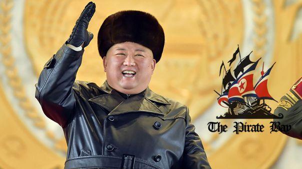 Kim Jong-un no acogió a The Pirate Bay.