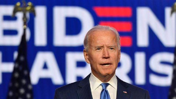 Presidente electo de Estados Unidos, Joe Biden