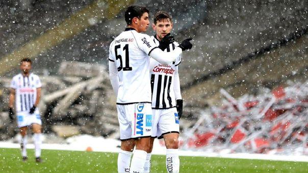 Matías Succar fichó por LASK Linz hasta junio del 2024