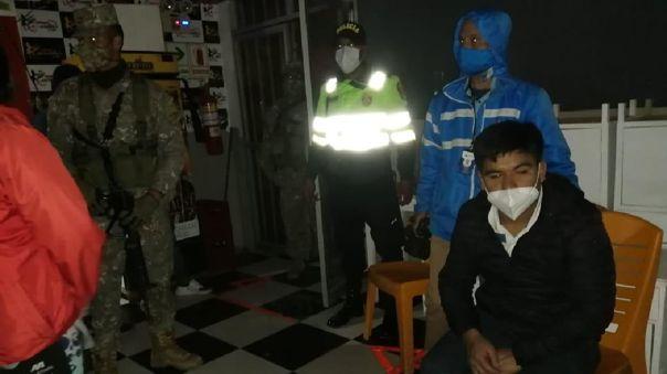 Cajamarca: En pleno toque de queda, intervienen a 40 personas en local donde se ejerce el trabajo sexual