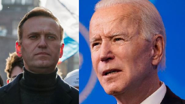 Alexéi Navalni y Joe Biden