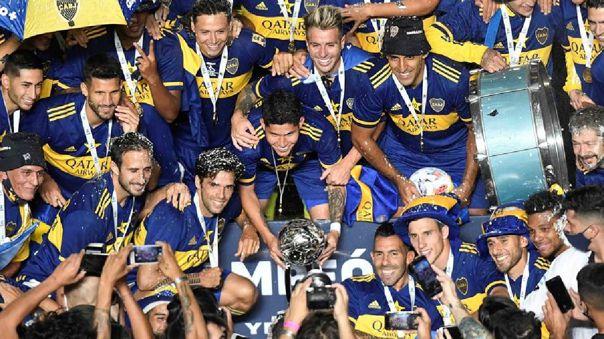 Boca Juniors campeón de la Copa Diego Armando Maradona