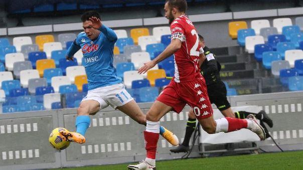 Hirving Lozano en Serie A