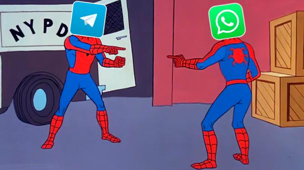 WhatsApp - Telegram