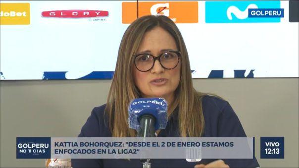 La administradora de Alianza Lima manifestó en conferencia de prensa que el objetivo del cuadro íntimo será volver a la Primera Divisón.