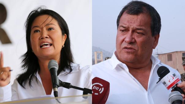 Keiko Fujimori y Jorge Nieto