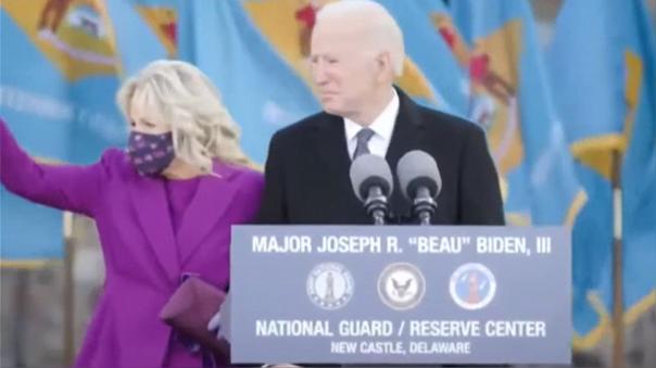 Presidente electo de Estados Unidos, Joe Biden, a un día de su investidura.