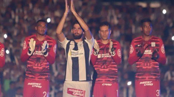 Rubert Quijada llegó a Alianza Lima procedente del Caracas FC.