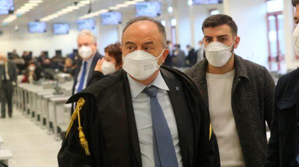 ITALY CRIME MAFIA TRIAL NDRANGHETA