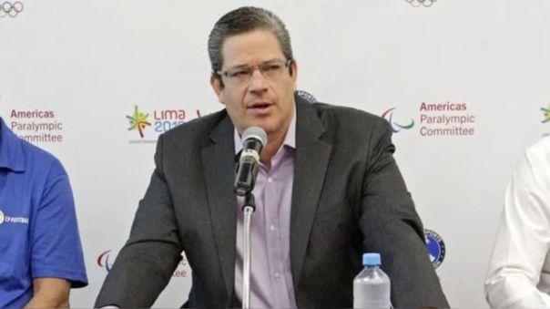 Gustavo San Martín, presidente del Instituto Peruano del Deporte