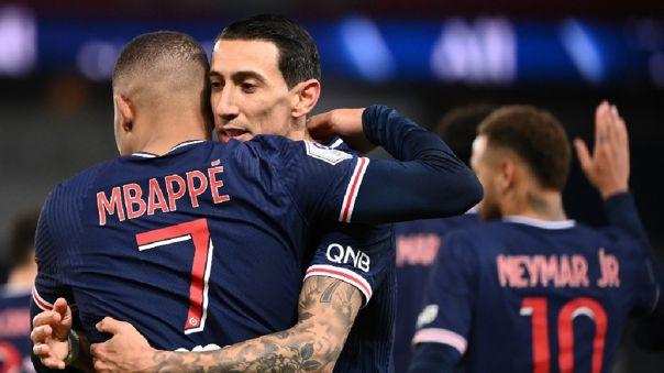 Kylian Mbappé abrió la cuenta en el PSG vs. Montpellier por Ligue 1